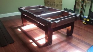 Pool and billiard table set ups and installations in York Pennsylvania